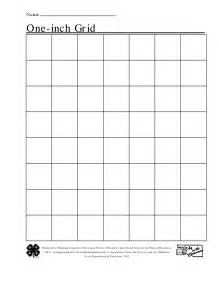 1 inch grid paper template 5 best images of square inch grid paper printable 1 inch
