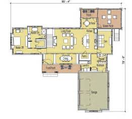 lovely one story house plans with finished basement #9: ada167-fr