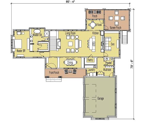 ranch house floor plans with basement simply home designs new unique ranch plan
