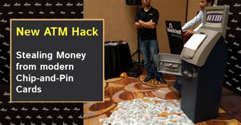 Hack Gift Card - this atm hack allows crooks to steal money from chip and pin cards