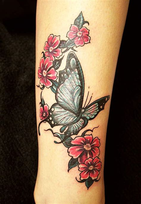 tattoo flower and butterfly designs 86 stunning and lovely butterfly tattoos and designs