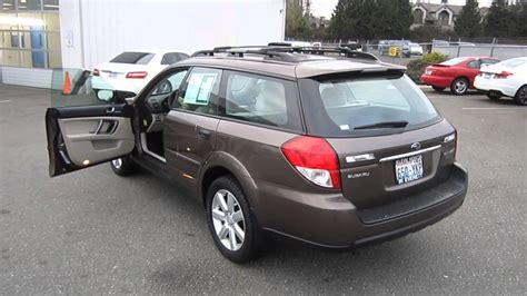 brown subaru 2009 subaru outback brown stock 12788a walk around