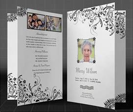 funeral brochure templates free psd templates creative