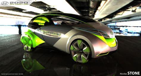 hyundai city car rendering car body design