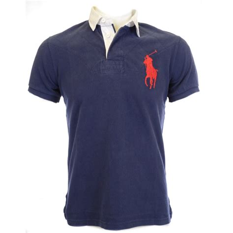 Polo Ralph Laurent polo ralph custom fit big pony polo shirt in navy