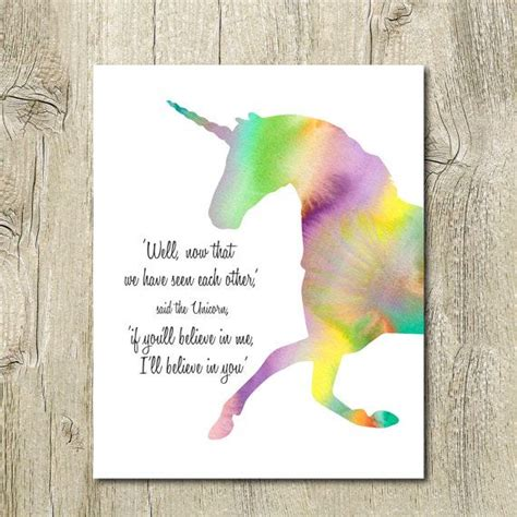 printable unicorn quotes unicorn quote printable watercolor unicorn instant