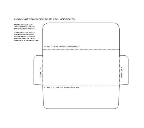 9 Small Envelope Sles Sle Templates Small Envelope Template