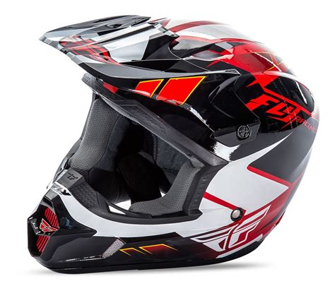 fly motocross helmet fly racing kinetic impulse helmet revzilla