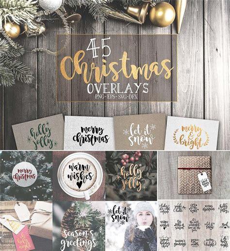 christmas svg overlays