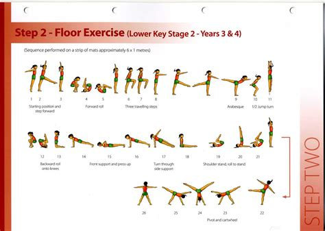 Gymnastics Level 3 Floor Routine by Image Gallery Stepping Routines