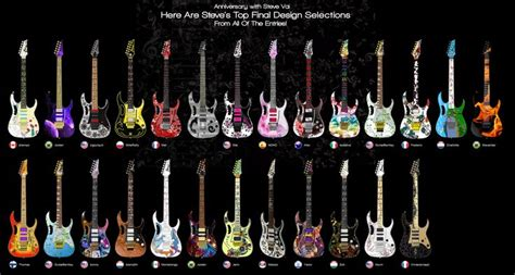 design a jem contest truth in shredding steve vai ibanez design a jem contest
