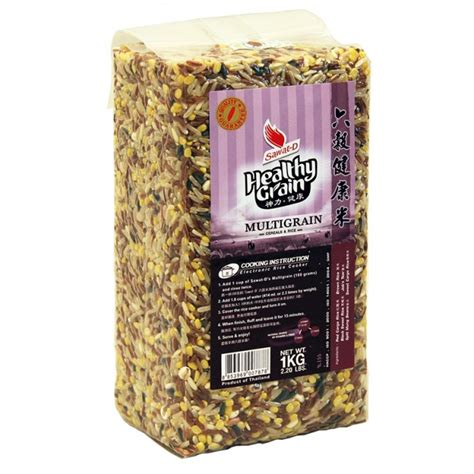 Multi Rice multigrain rice sawat d healthy grain 1 kg asian food