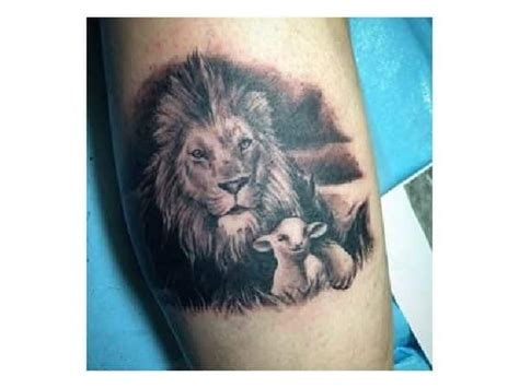 lion and lamb tattoo 30 best small images on