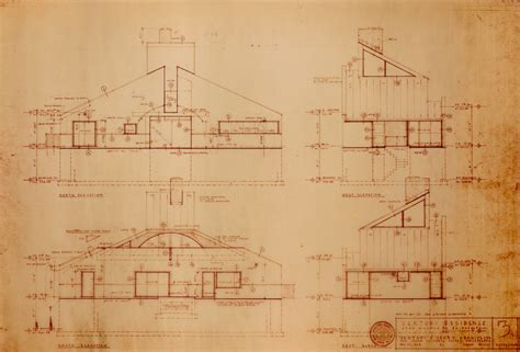 How To Draw A House Floor Plan The Story Behind The Vanna Venturi House Uncube