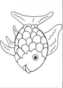 Rainbow Template Preschool by Rainbow Fish Template Az Coloring Pages