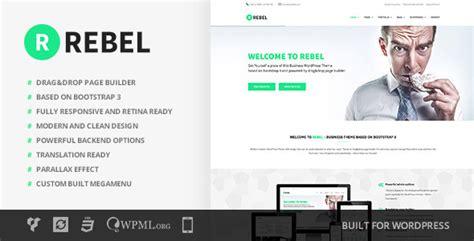 bootstrap v2 3 2 themes rebel v2 2 wordpress business bootstrap theme free