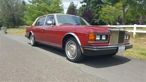 Rolls Royce Silver Spur Price by 1984 Rolls Royce Rolls Royce Silver Spur