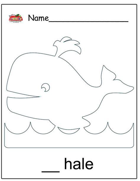 whale coloring pages preschool ocean preschool theme