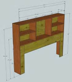 storage headboard king size project showcase wood talk