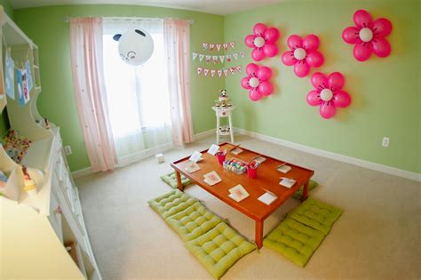 birthday party decoration at home simple decoration ideas for birthday party at home image