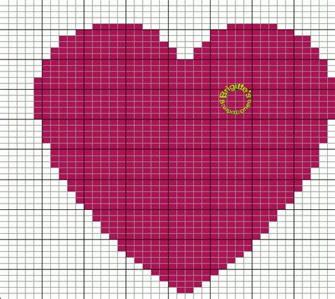 Grille Coeur Tricot by Mes Favoris Tricot Crochet Le Jacquard