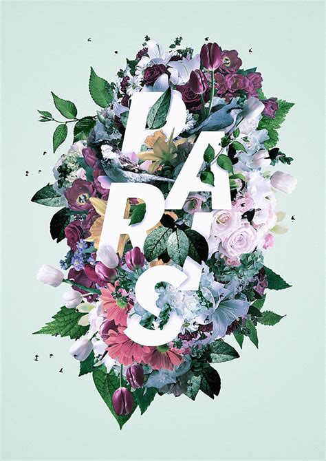 flower design lytham blog 40 floral typography designs that combine flowers text