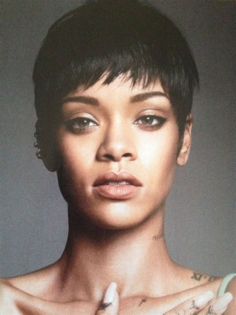 Rihanna pixie cut   short haired goddesses   Pinterest