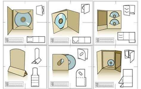 Packaging Template Designs 30 Free Vector Files To Collect Now Cd Packaging Templates