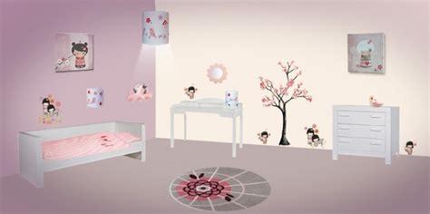 d馗oration chambre japonaise deco japonaise chambre bebe visuel 3