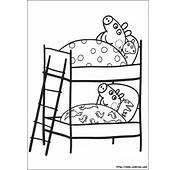Peppa Et Georges Dorment Dans Des Lits Superpos&233s Avec Leurs Doudous