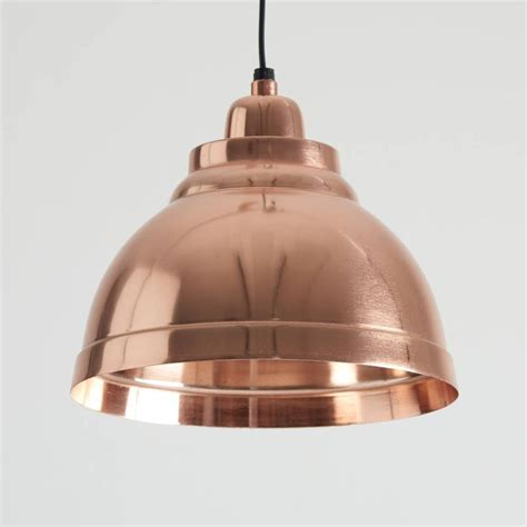 copper pendant lights kitchen copper plated aluminium pendant lights kitchen dining