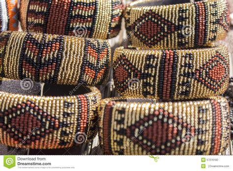 Handmade In Africa - traditional handmade bracelets brown beige