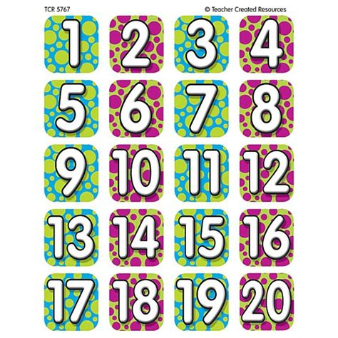Colourful Stuff 20 colorful numbers 1 20 www pixshark images