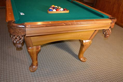 amf playmaster fairfax billiard table and cue sticks ebth