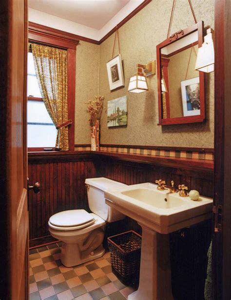 arts and crafts bathroom ideas arts crafts bathrooms with character arts crafts