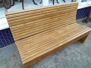 Boat Bench Antique Pitch Pine Ferry Boat Bench Antiques Atlas