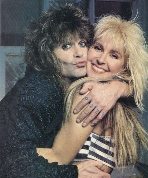 female rock musicians images lita ford and ozzy osbourne