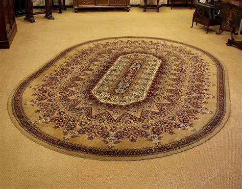 antiques atlas large oval rug