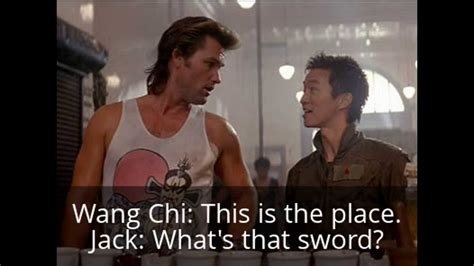 Big Trouble In Little China Meme - big trouble in little china 2 the less adventures of jack