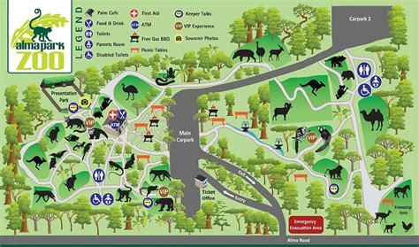 lincoln park zoo map about us alma park zoo brisbane official site