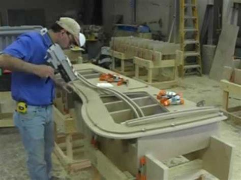 Corian Manufacturing Process solid surface countertop manufacturing fabrication