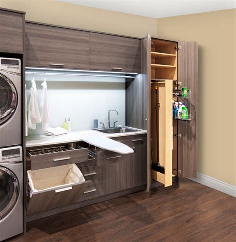 Laundry Room Accessories Storage Laundry Room Accessories Contemporary Laundry Room Other Metro By Organized Interiors
