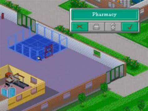 theme hospital names of levels theme hospital level 7 part 1 youtube
