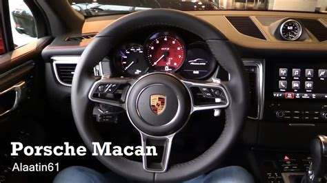 2017 porsche macan turbo interior 2017 porsche macan interior review