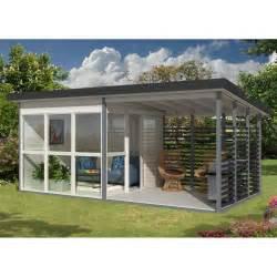 abri de jardin design 15 90m 178 avec v 233 randa et plancher