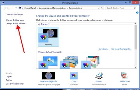 Pointer Keyboard Mouse how to customize mouse cursors pointers in windows 7