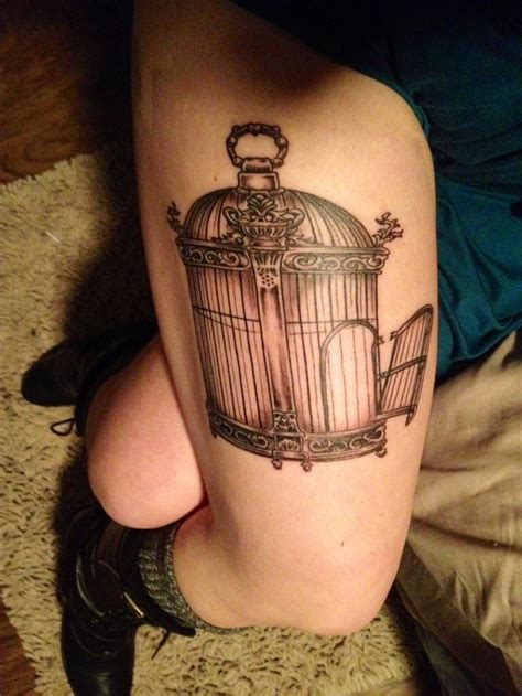 small bird cage tattoo best 25 bird cage tattoos ideas on cage