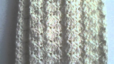 shell pattern crochet youtube crochet shell stitch scarf youtube