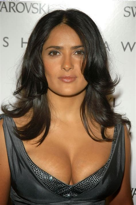 A Salma Hayek by Salma Hayek And Spicy Cleavages Show Stills