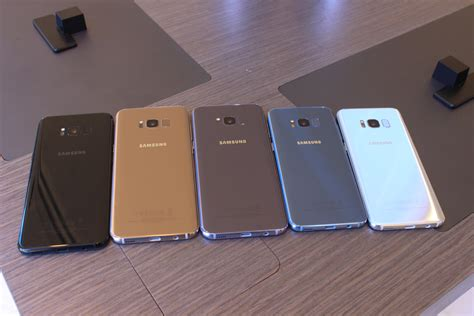 Samsung S8 Mapple Gold Garansi Sein Like New samsung galaxy s8 new features on look at 7 specs
